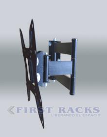 rack peru movil, rack doble brazo, rack lcd PERU